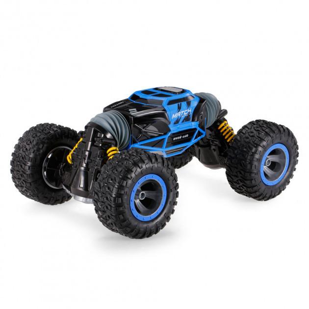Машинка-перевертыш Leopard King №1 (синяя)