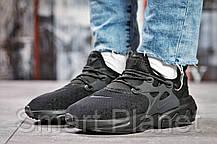 Кроссовки женские 15444, Nike React, черные, < 38 39 41 > р. 39-24,0см., фото 2