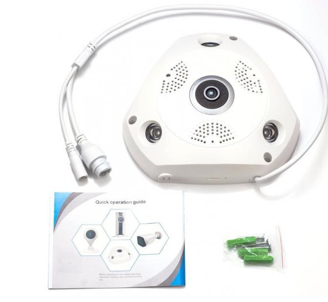 Панорамная камера Wi-Fi / IP 3D XPX 360 градусов IP66