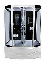 Гидробокс КТ 150x85x215 прозрачное стекло, глубокий поддон, А0040468