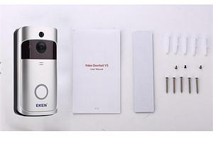 Беспроводной видеозвонок в дом Eken V5
