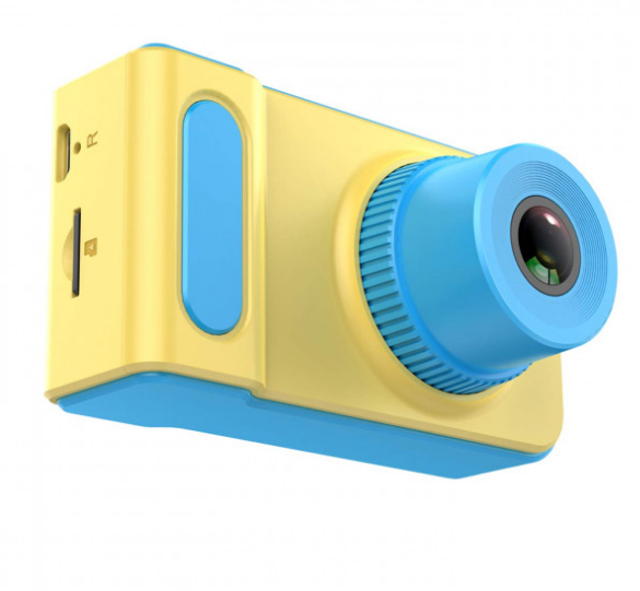 Цифровий дитячий фотоапарат Summer Vacation (Жовтий)