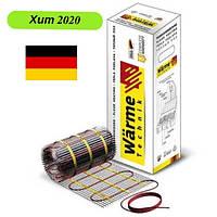 Теплый пол электрический 1.0 м2 Warme (Германия) нагревательный мат под плитку..