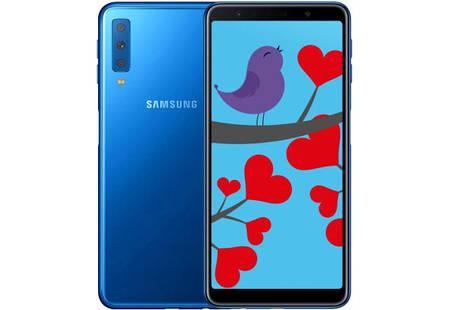 Смартфон Samsung Galaxy A7 A750F Blue Stock A-, фото 2
