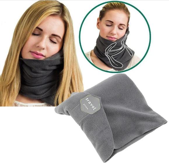 Подушка-шарф для путешествий Travel pillow