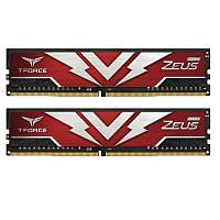 DDR4 2х8GB 2666MHz Team T-Force Zeus Red (TTZD416G2666HC19DC01)