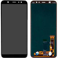 LCD Samsung A605/A6 Plus-2018 + touch Black Copy