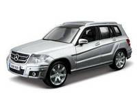 Автомодель Bburago - MERCEDES BENZ GLK-CLASS (ассорти красный, серебристый, 1:32)