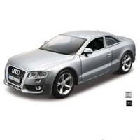 Автомодель Bburago Audi A5 (ассорти серый металлик, черный, 1:32)