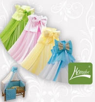 Балдахин для детской кроватки Homefort, расцветки в ассортименте