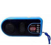 """Радиоприемник колонка """"WSTER"""" WS-3199 Blue"""