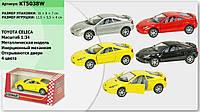 """Машина металл  KT5038W """"Toyota Celica"""", в кор. 16*8*7см /96-4/"""