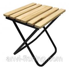 Стульчик складной деревянное сиденье Mastertool - Господар