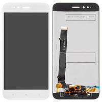 LCD Xiaomi Mi A1 + touch White Original