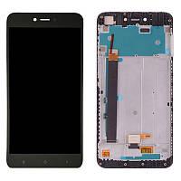 LCD Xiaomi Redmi Note 5a + touch + frame Black Original