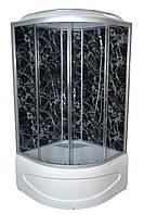 Душевой бокс TKF90 Черная Паутина BG 90х90х30, тонированное стекло, глубокий поддон, А0045228