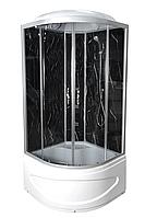 Душевой бокс TKF90 / 1 Черный Оникс BG 90х90х3 тонированное стекло, низкий поддон, А0045723