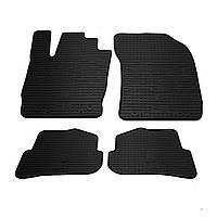 AUDI A1 (8X) комплект качественных резиновых ковриков. Комплект 4 шт. (2010-2018)