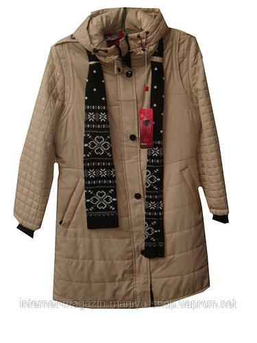 Женская куртка демисезон двойка