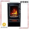 Электрокамин ArtiFlame AF-FS-92-G переносной с обогревом, камин приставной, угловой, мощность 2,0 кВт, фото 3