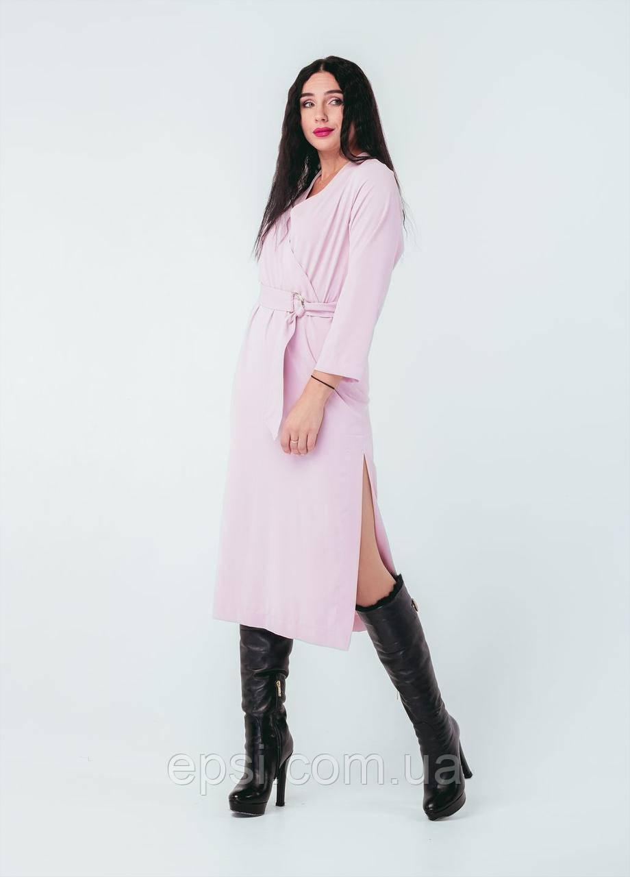 Платье Alpama SO-78259-PNK Розовый 46