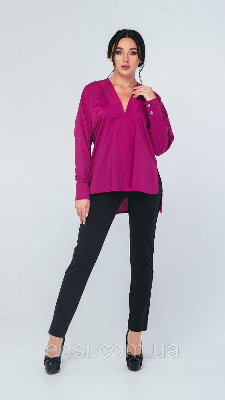 Блузка Alpama SO-78225-FIO Фиолетовый 46