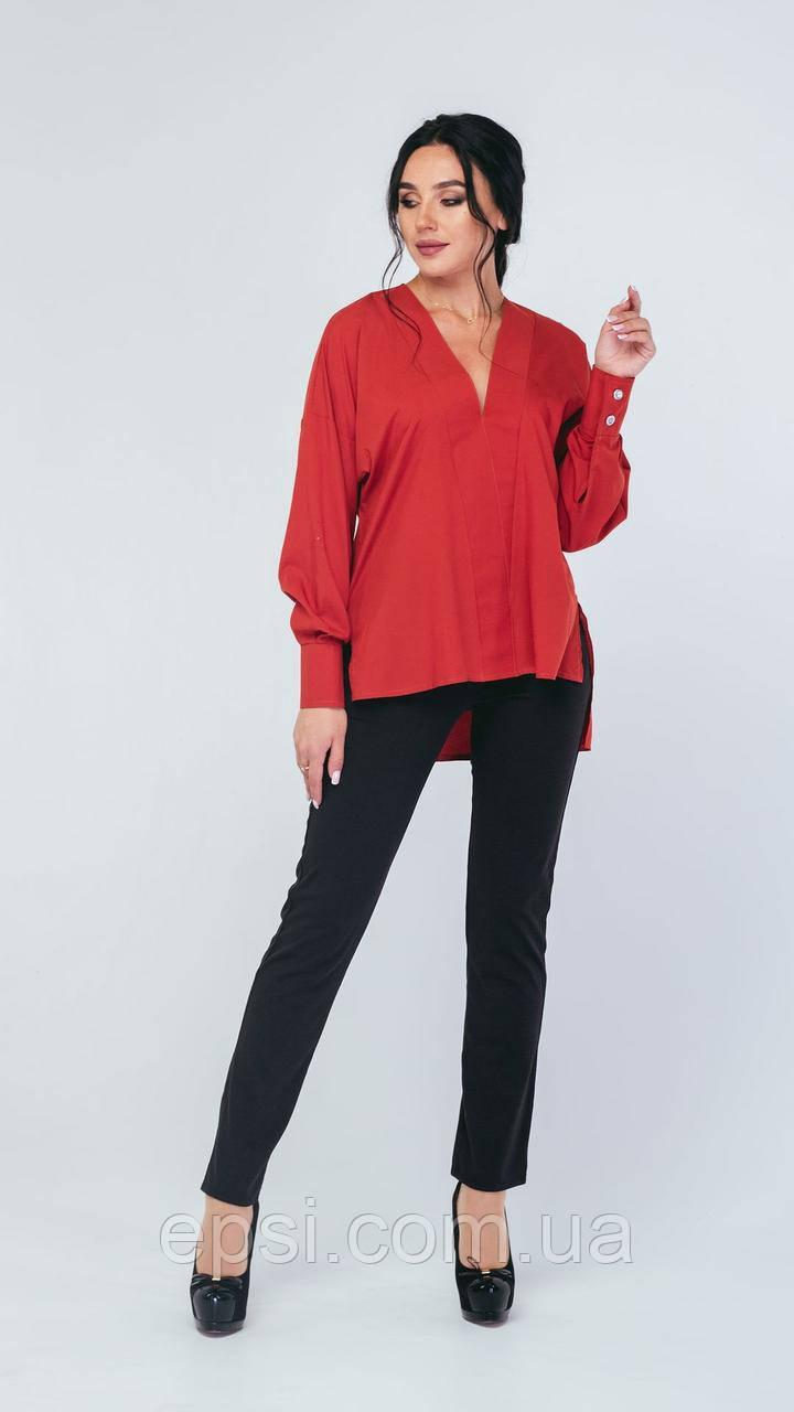 Блузка Alpama SO-78225-RED Красный 46
