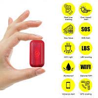 GPS трекер миниатюрный для велосипеда - маячок GPS VJOYCAR T630 водонепроницаемый, просмотр на Android & IOs