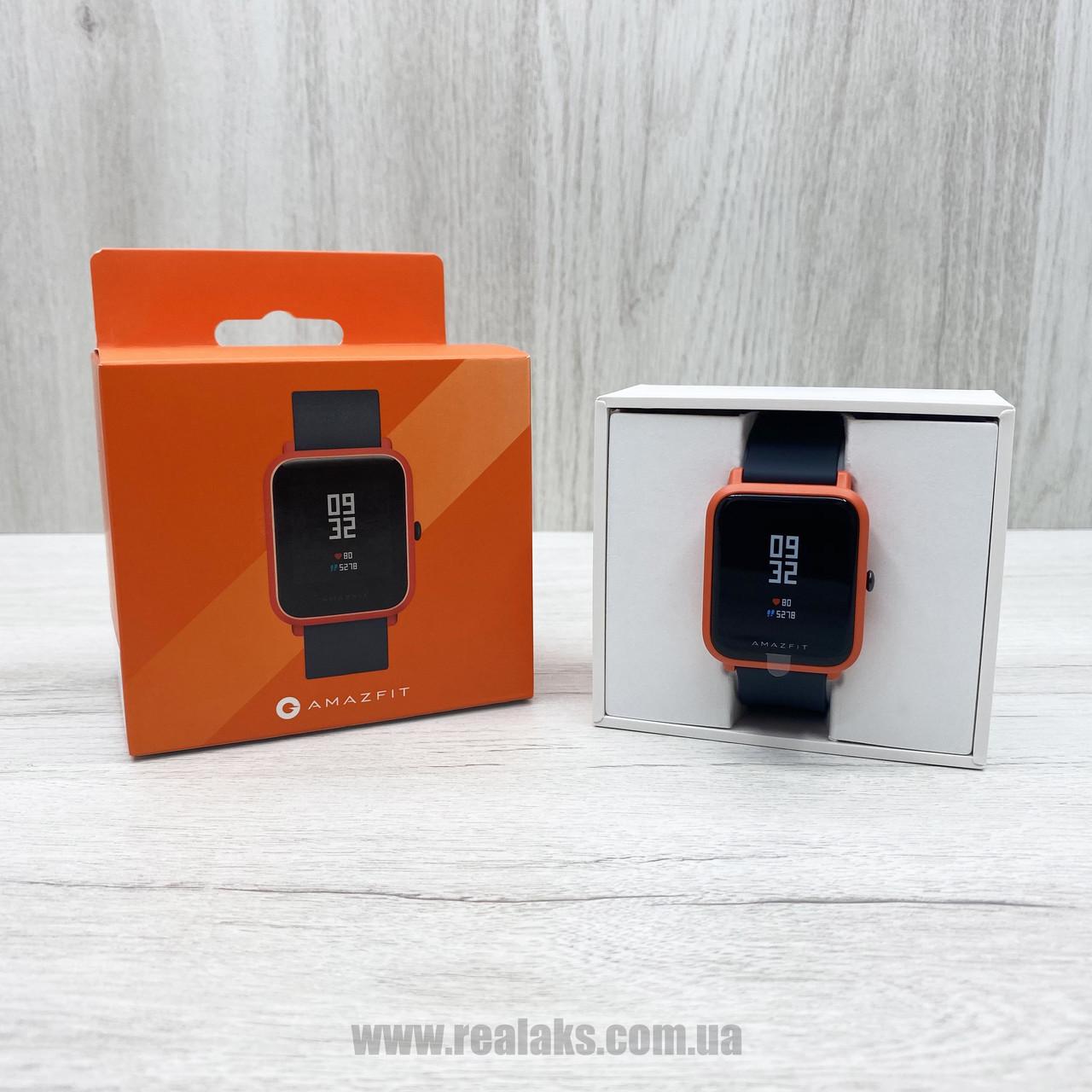 Смарт-часы Amazfit Bip (оранжевые)