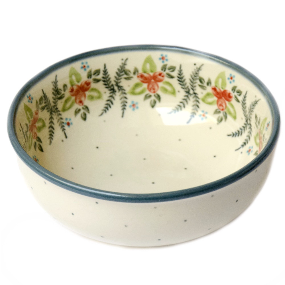 Керамическая пиала для супа, салатник 17 Cowberry