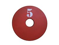 Диск (млинець) для штанги сталевий, фарбований 5 кг - 51 мм