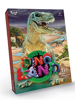 Большой креативный игровой набор для мальчиков дино Dino Land 7 в 1