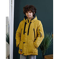 Модная зимняя куртка  размеры 128-158