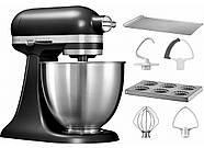 KitchenAid Artisan Mini 5KSM3311XEBM (матовый черный), фото 6