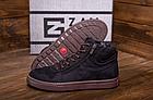 Мужские зимние кожаные ботинки ZG Black Exclusive New, фото 3