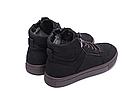 Мужские зимние кожаные ботинки ZG Black Exclusive New, фото 5