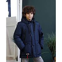 Зимняя куртка для мальчика размеры 128-158, фото 1
