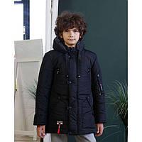 Теплая зимняя куртка на мальчика  размеры 128-158