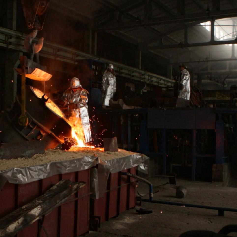Отливка легированной стали