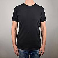 Черная футболка мужская  L