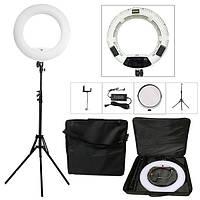 Кольцевая светодиодная лампа Yidoblo FD-480ll кольцевой свет для фото, видео 18'' 45 см 96W Селфі кільцева