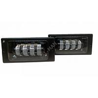 ВТФ LED Протитуманні фари ВАЗ 2110 - 4 лінзи Білий SAL-MAN 50w