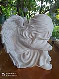 Скульптуры ангелов для памятников. Ангелочек из мрамора №16, фото 5
