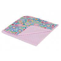 Плед-конверт Twins Minky Лето pink 75*75