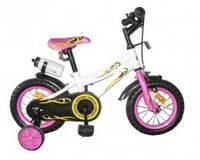Двухколесный велосипед BabyHit Condor, цвет бело-розовый
