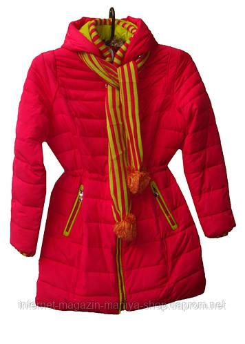 Женская куртка подросток тёплая