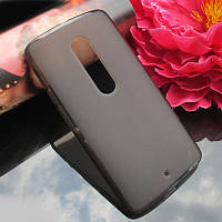 Чехол накладка для Motorola Moto X Play XT1562 серый
