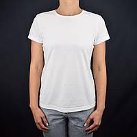 Белая футболка женская XL