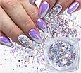Декор для ногтей, хлопья юкки, конфетти 02, фото 5