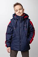 Демисезонная куртка на мальчика  размеры 128-146, фото 1